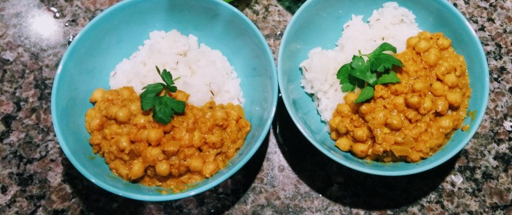 chicpeas and rice